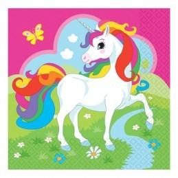 Set 20 servetele Unicorn