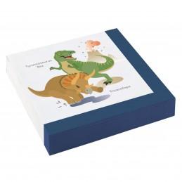 Set 20 servetele Dinozauri...