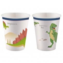 Set 8 pahare Dinozauri...
