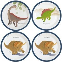 Set 8 farfurii Dinozauri...