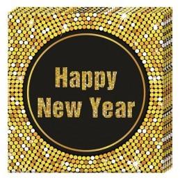 Set 20 servetele Happy New...
