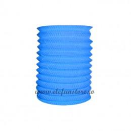 Lampion Acordeon Bleu 30cm