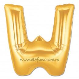 """Balon """"Litera V"""" Gold"""
