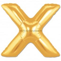 """Balon """"Litera W"""" Gold"""