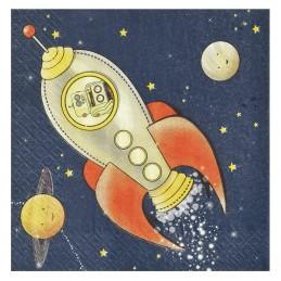 Set 20 servetele Space Trip