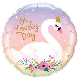 Balon Rotund Lebada -...
