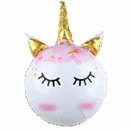 Balon Cute Unicorn Head 85cm