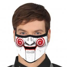 Masca textila Saw Puppet 3...