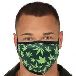 Masca textila Cannabis 3...