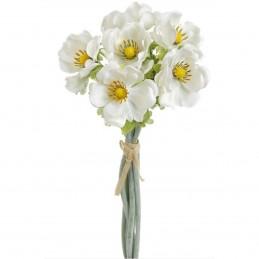 Buchet anemone albe 6 fire...