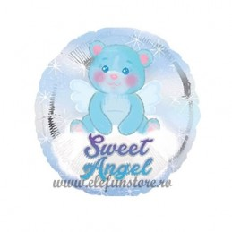 "Balon  ""Sweet Angel"" Bleu"