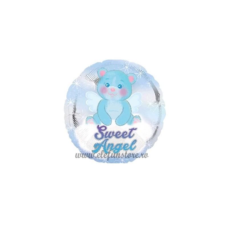 "Balon  ""Sweet Angel"" Bleu"
