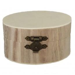Cutie rotunda din lemn pt...