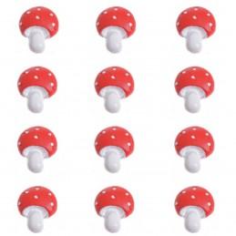Set 10 ciupercute adezive 3 cm
