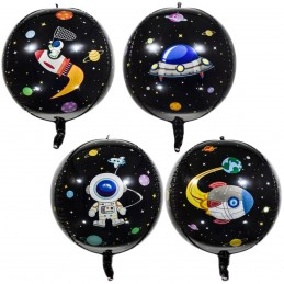 Balon Sfera 3D Space Party...