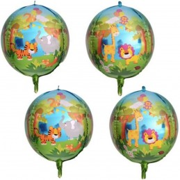 Balon Sfera 3D Jungle Party...