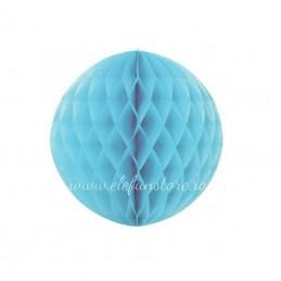 Decoratiune Fagure Bleu 25 cm