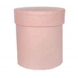 Cutie rotunda inalta roz 7*8cm