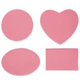 Set cutii roz, 4 forme  12*6cm