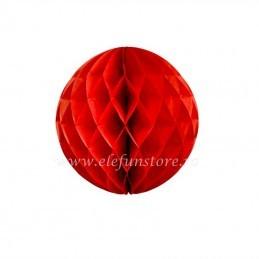 Decoratiune Fagure Rosu 25 cm
