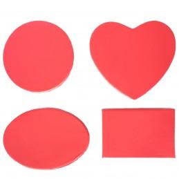 Set cutii rosii, 4 forme...