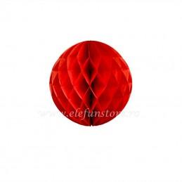 Decoratiune Fagure Rosu 20 cm