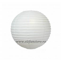 Lampion Alb 30cm