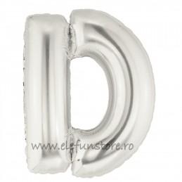 """Balon """"Litera C"""" Silver"""
