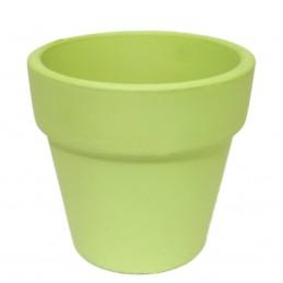Ghiveci teracota verde...