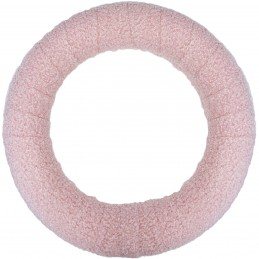 Coronita roz din lana...