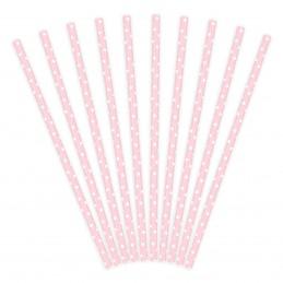 Set 10 paie de baut roz cu...