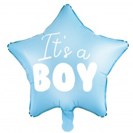 Balon stea bleu IT'S A BOY