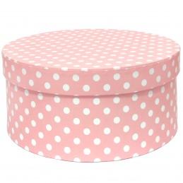 Cutie rotunda roz cu...