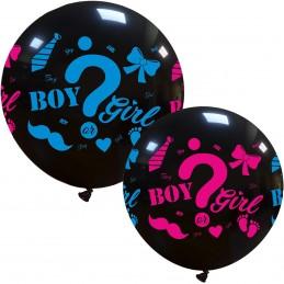 Balon Jumbo Girl or Boy ?...