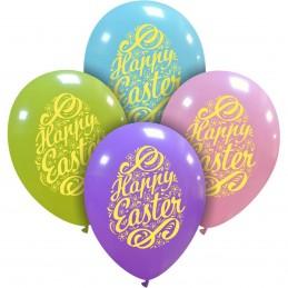 Set 10 baloane Happy Easter...