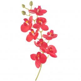 Orhidee rosie din silicon 8...