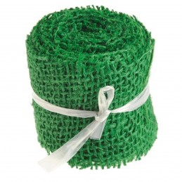 Panglica Iuta Verde 6cm * 3m