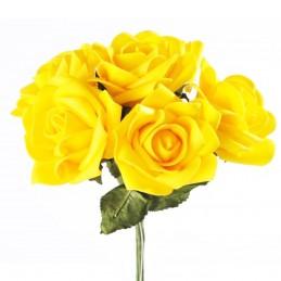 Set 6 trandafiri din spuma...