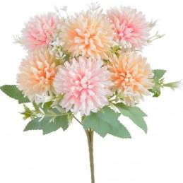 Buchet crizanteme sfera roz...