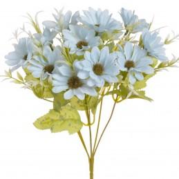 Buchet crizanteme bleu 6...
