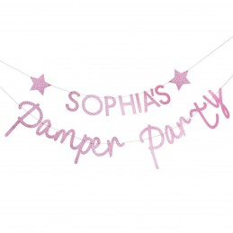Banner Pamper Party...
