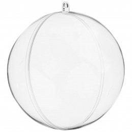 Glob Acrilic Transparent 4 cm