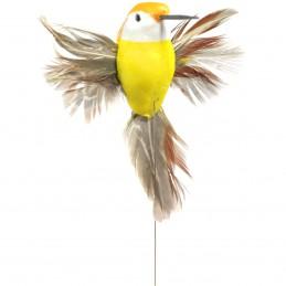 Set 3 pasari colibri pe bat