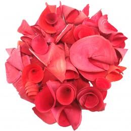 Conuri din lemn rosii 5 cm,...