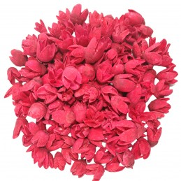 Bakuli rosu din lemn 2-3cm,...