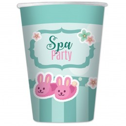Set 8 pahare Spa Party 200ml