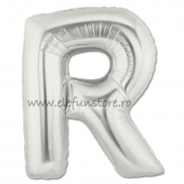 """Balon """"Litera Q"""" Silver"""