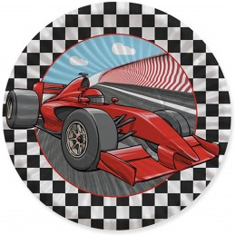 Set 8 farfurii Formula 1 18cm