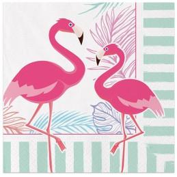 Set 20 servetele Flamingo...