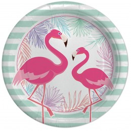 Set 8 farfurii Flamingo...